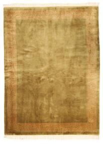 China Acabamento Antigo Tapete 168X229 Oriental Feito A Mão Castanho/Verde Azeitona (Lã, China)