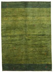 Gabbeh Persa Tapete 165X230 Moderno Feito A Mão Verde Escuro/Verde Azeitona (Lã, Pérsia/Irão)