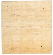 Gabbeh Persa Tapete 195X207 Moderno Feito A Mão Quadrado Bege/Bege Escuro (Lã, Pérsia/Irão)