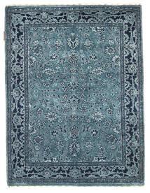 Gabbeh Loribaft Tapete 92X122 Moderno Feito A Mão Azul Escuro/Azul Claro/Azul (Lã, Índia)