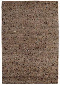 Gabbeh Loribaft Tapete 203X296 Moderno Feito A Mão Castanho/Castanho Escuro (Lã, Índia)