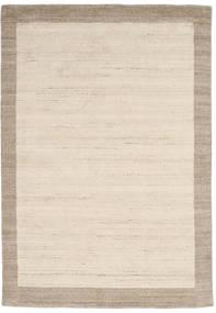 Handloom Frame - Natural/Sand Tapete 160X230 Moderno Bege/Cinzento Claro (Lã, Índia)