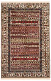 Turcomano Tapete 162X246 Oriental Feito A Mão Castanho Escuro/Castanho Claro (Lã, Pérsia/Irão)