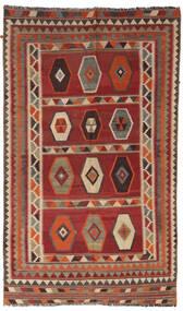 Kilim Vintage Tapete 133X232 Oriental Tecidos À Mão Vermelho Escuro/Castanho Claro/Castanho Escuro (Lã, Pérsia/Irão)