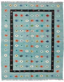 Kilim Nimbaft Tapete 157X200 Moderno Tecidos À Mão Verde Pastel/Azul Turquesa (Lã, Afeganistão)