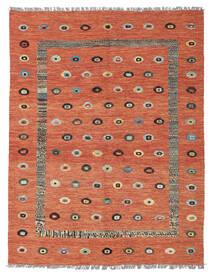 Kilim Nimbaft Tapete 155X200 Moderno Tecidos À Mão Castanho Alaranjado/Vermelho Escuro (Lã, Afeganistão)