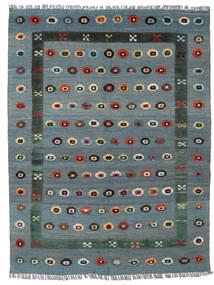 Kilim Nimbaft Tapete 150X196 Moderno Tecidos À Mão Azul/Cinzento Claro (Lã, Afeganistão)