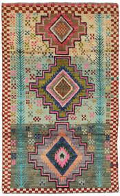 Moroccan Berber - Afghanistan Tapete 113X183 Moderno Feito A Mão Vermelho Escuro/Verde Escuro (Lã, Afeganistão)