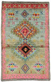 Moroccan Berber - Afghanistan Tapete 83X133 Moderno Feito A Mão Verde Escuro/Vermelho (Lã, Afeganistão)