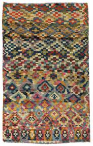 Moroccan Berber - Afghanistan Tapete 117X182 Moderno Feito A Mão Cinza Escuro/Cinzento Claro (Lã, Afeganistão)