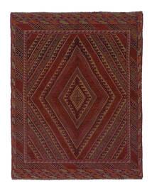 Kilim Golbarjasta Tapete 143X185 Oriental Tecidos À Mão Preto/Branco/Creme (Lã, Afeganistão)