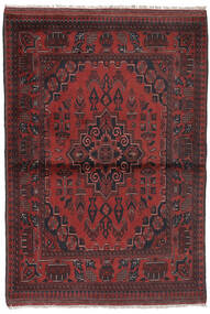 Afegão Khal Mohammadi Tapete 96X147 Oriental Feito A Mão Preto/Castanho Escuro (Lã, Afeganistão)