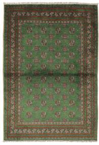 Afegão Tapete 105X150 Oriental Feito A Mão Preto/Verde Escuro (Lã, Afeganistão)