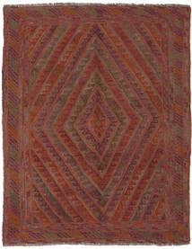 Kilim Golbarjasta Tapete 142X185 Oriental Tecidos À Mão Castanho Escuro/Preto (Lã, Afeganistão)