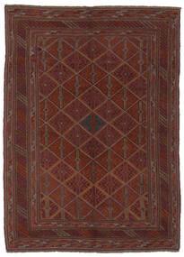 Kilim Golbarjasta Tapete 140X188 Oriental Tecidos À Mão Preto (Lã, Afeganistão)