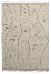Moroccan Berber - Afghanistan Tapete 179X255 Moderno Feito A Mão Castanho Claro/Cinzento Claro (Lã, Afeganistão)