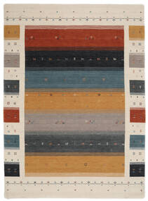 Loribaf Loom Designer - Multi Tapete 210X290 Moderno Preto/Cinzento Claro (Lã, Índia)
