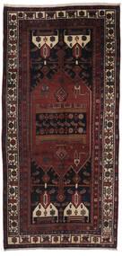 Gholtogh Tapete 160X335 Oriental Feito A Mão Tapete Passadeira Preto/Castanho Escuro (Lã, Pérsia/Irão)