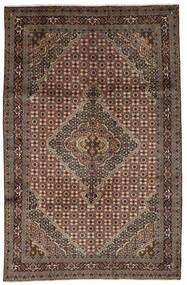 Ardabil Tapete 197X302 Oriental Feito A Mão Castanho Escuro/Preto (Lã, Pérsia/Irão)