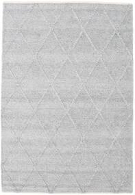 Svea - Secundário Tapete 140X200 Moderno Tecidos À Mão Preto/Cinza Escuro (Lã, Índia)