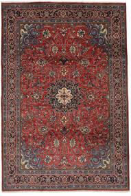 Mahal Tapete 215X315 Oriental Feito A Mão Preto/Castanho Escuro (Lã, Pérsia/Irão)
