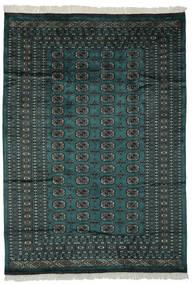 Paquistão Bucara 2Ply Tapete 180X255 Oriental Feito A Mão Preto/Verde Escuro (Lã, Paquistão)