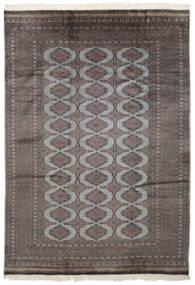Paquistão Bucara 2Ply Tapete 186X262 Oriental Feito A Mão Preto/Cinza Escuro (Lã, Paquistão)