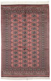 Paquistão Bucara 2Ply Tapete 121X182 Oriental Feito A Mão Vermelho Escuro/Preto (Lã, Paquistão)