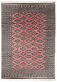 Paquistão Bucara 2Ply Tapete 183X260 Oriental Feito A Mão Preto/Castanho Escuro (Lã, Paquistão)