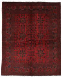 Afegão Khal Mohammadi Tapete 151X195 Oriental Feito A Mão Preto/Vermelho Escuro (Lã, Afeganistão)