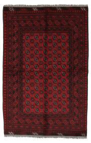 Afegão Tapete 156X230 Oriental Feito A Mão Preto/Branco/Creme (Lã, Afeganistão)
