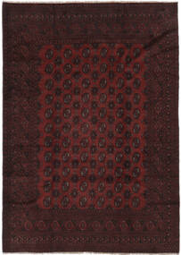 Afegão Tapete 198X280 Oriental Feito A Mão Preto (Lã, Afeganistão)