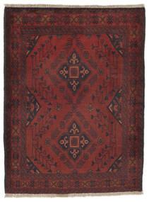 Afegão Khal Mohammadi Tapete 82X110 Oriental Feito A Mão Preto/Castanho Escuro (Lã, Afeganistão)