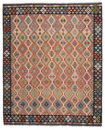 Kilim Afegão Old Style Tapete 260X304 Oriental Tecidos À Mão Vermelho/Preto Grande (Lã, Afeganistão)
