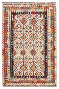 Kilim Afegão Old Style Tapete 166X254 Oriental Tecidos À Mão Vermelho/Preto (Lã, Afeganistão)