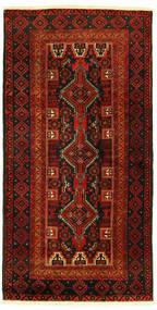 Balúchi Tapete 96X193 Oriental Feito A Mão (Lã, Pérsia/Irão)