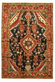 Hamadã Tapete 138X203 Oriental Feito A Mão (Lã, Pérsia/Irão)